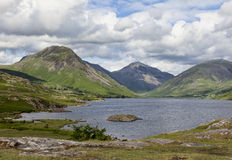 Wastwater and Great Gable Stock Photo