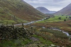 Wastwater from Great Gable Stock Images