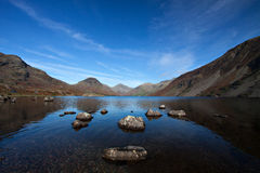Wastwater in Lake District, Cumbria, England. Stunning view in the Lake District stock photography