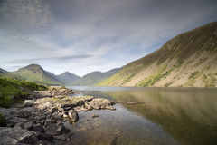 Wastwater lake in the lake district, cumbria, england. Beautiful view of wastwater lake in the lake district, cumbria, england on sunny day Stock Photos