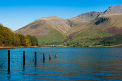 Wastwater and Lingmell Royalty Free Stock Photography