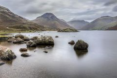 Wastwater long exposure Royalty Free Stock Photo