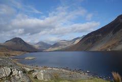Wastwater nel distretto Cumbria del lago fotografia stock