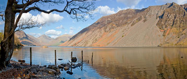 Wastwater screes panorama Royalty Free Stock Photo