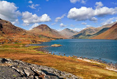 Wastwater sunny day Royalty Free Stock Image