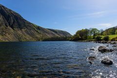 Waswater. View of Wastwater in Wasdale, Cumbria Stock Photo
