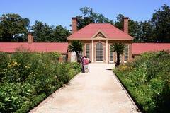 Waszyngtońska ` s Mount Vernon nieruchomości szklarnia Obrazy Royalty Free
