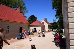 Waszyngtoński ` s Mount Vernon nieruchomości budynek Zdjęcia Stock