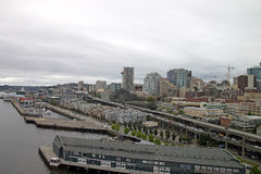 Waszyngtoński Seattle w centrum Schronienie obrazy royalty free
