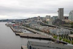 Waszyngtoński Seattle w centrum Schronienie fotografia royalty free