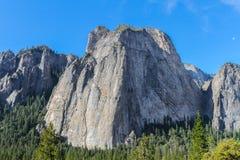 Waszyngtońska kolumna, Yosemite park narodowy, Kalifornia Fotografia Royalty Free