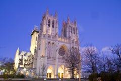 Waszyngtońska Krajowa katedra Obrazy Royalty Free