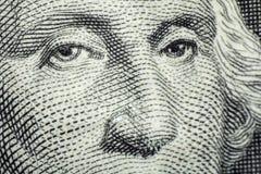 Waszyngtoński Dolarowy Makro- Obrazy Stock