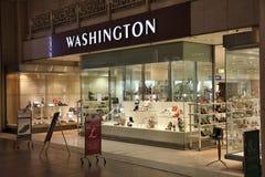 Waszyngtoński obuwiany sklep Obraz Royalty Free