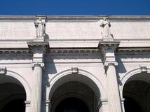 Waszyngtoński zjednoczenie staci Pediment 2010 Obrazy Royalty Free