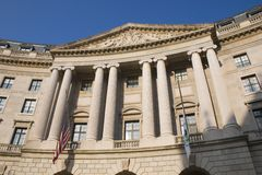 Waszyngton dc budynku. Zdjęcia Royalty Free