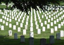 Waszyngton, DC - Czerwiec 01, 2018: Arlington Krajowy cmentarz Zdjęcie Stock