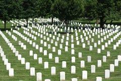 Waszyngton, DC - Czerwiec 01, 2018: Arlington Krajowy cmentarz Fotografia Stock