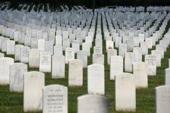 Waszyngton, DC - Czerwiec 01, 2018: Arlington Krajowy cmentarz Zdjęcia Royalty Free