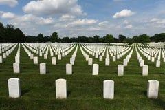 Waszyngton, DC - Czerwiec 01, 2018: Arlington Krajowy cmentarz zdjęcia stock