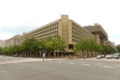 Waszyngton, DC - Czerwiec 02, 2018: FBI, Federacyjny biuro Investig zdjęcia royalty free