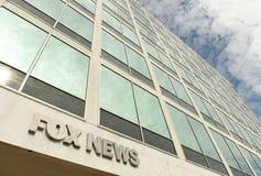 Waszyngton, DC - Czerwiec 01, 2018: Fox News DC biuro w Waszyngton zdjęcie stock