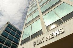 Waszyngton, DC - Czerwiec 01, 2018: Fox News DC biuro w Waszyngton obraz royalty free