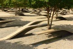 Waszyngton, DC - Czerwiec 01, 2018: Pentagon pomnik uwypukla 1 Obrazy Royalty Free