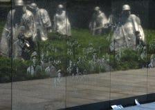 Waszyngton, DC - Czerwiec 01, 2018: Wojna Koreańska pomnik na Natio Zdjęcia Royalty Free
