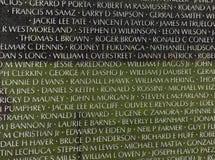 Waszyngton, DC - Czerwiec 01, 2018: Wojna W Wietnamie pomnik w domyciu Obraz Stock