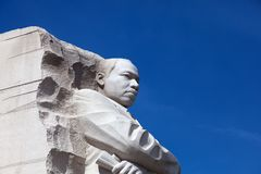 WASZYNGTON, DC - KWIECIEŃ 06, 2018: Martin Luther King jr pomnik w Zachodnim Potomac parku, Waszyngtoński Gromadzki Kolumbia, usa obraz royalty free