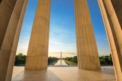 Waszyngton dc pomników Obrazy Stock