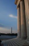 Waszyngton dc pomników Obraz Royalty Free