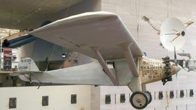 WASZYNGTON, DC, usa - WRZESIEŃ 10, 2015: duch st ludwik pierwszy pomyślny trans atlantycki samolot obraz stock