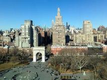 Waszyngton kwadrata park - Miasto Nowy Jork Fotografia Royalty Free