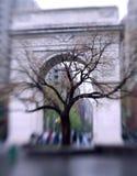Waszyngton kwadratowe arch nowego Jorku obraz stock