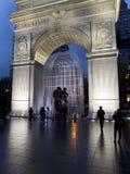 Waszyngton park Pomnikowy Manhattan Nowy Jork Fotografia Stock