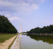 Waszyngton pomnikowy Obrazy Royalty Free