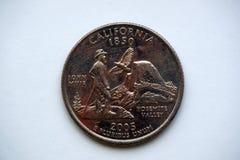 ` Waszyngton ćwiartki ` Kalifornia Fotografia Royalty Free