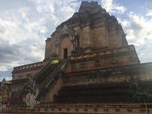 Wat亚伊在chiangmai的` s寺庙在泰国 图库摄影