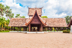 Wat吨Gwan主要旅游胜地, Chiangmai,泰国。这 免版税库存图片