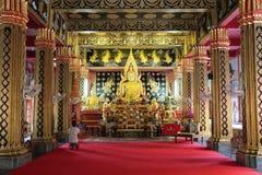 Wat帕纳-清迈- Thaïlande 免版税库存图片