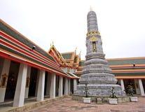 Wat的Pho (Pho寺庙)塔在曼谷 库存照片