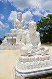 Wat的Pusawan Phetchaburi泰国Maitreya菩萨 免版税库存照片
