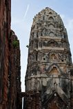 Wat的Si Sawai, Sukhothai历史公园, Sukhothai Tha塔 库存图片