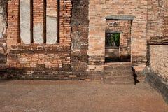 Wat的Si Sawai, Sukhothai历史公园, Sukhothai Tha塔 图库摄影