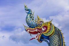 Wat荣Khun寺庙在清莱,泰国在亚洲 免版税库存图片