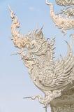 WAT荣KHUN寺庙, CHIANGRAI 免版税库存照片