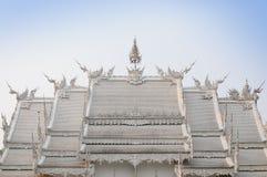 WAT荣KHUN寺庙, CHIANGRAI 库存图片