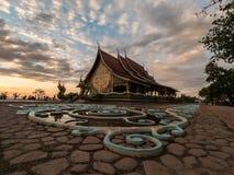 Wat诗琳通Wararam, Ubonratchathani 泰国 免版税图库摄影